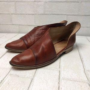 Free People Royale Cognac Tan Shoes 8
